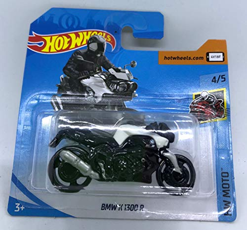 Hot Wheels 2018 BMW K 1300 R White 4/5 HW Moto 356/365 (Short Card)
