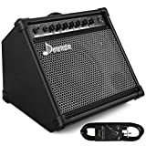 Donner DDA-35 AMP 35-Watt Electronic Drum Amplifier Keyboard Amplifier with Aux in and Wireless audio connection, Drum/Keyboard/MIC 3 in 1 Amplifier with 3-Band EQ and DI OUT