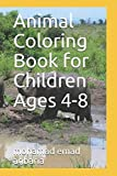 Animal Coloring Book for Children Ages 4-8