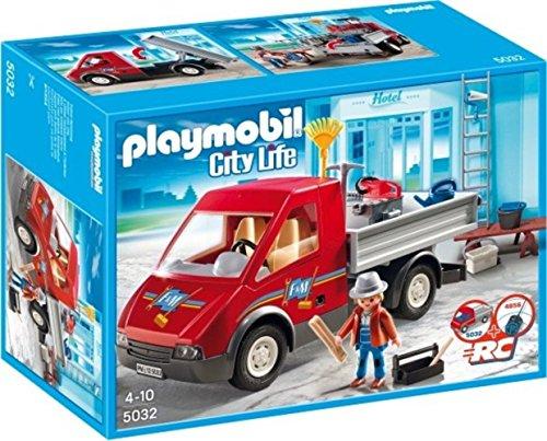 PLAYMOBIL 5032 City Life - Le camion des ouvriers