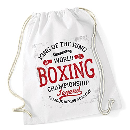 Certified Freak King Of The Ring Sac De Gym Blanc
