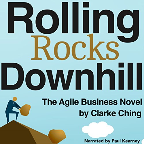 Rolling Rocks Downhill audiobook cover art