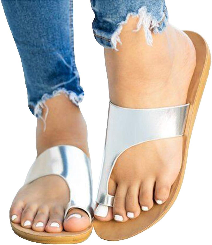 Women Leather Sandals, Outdoor Sport Water shoes Summer Flat Cross-Tied Open Toe Flip Flops