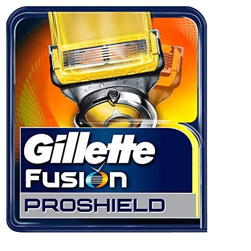 Gillette Fusion ProShield - Cuchillas para maquinilla de afeitar, 4 recambios
