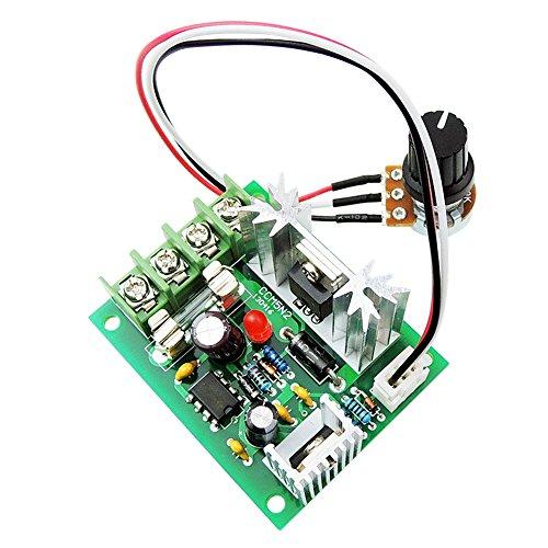 uniquegoods 12V 24V 30V 5A DC Motor Speed Controller Adjustable Variable Speed Governor PWM 120W Speed Driver Control CCM5
