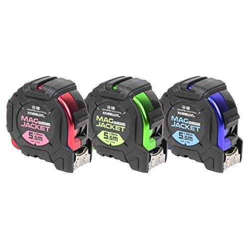コメロン(Komelon) マグジャケット2555 メタル KMC-31RM レッド、ブルー、ライム アソート品 色の指定は出来ません