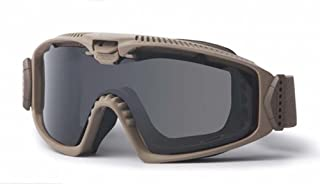 ESS Sunglasses Influx AVS Terrain Tan Goggles with Adjustable Ventilation System