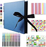 Vienrose Álbum de Fotos Scrapbook 10x15 para Pegar y Escrib