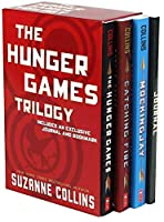 THE HUNGER GAMES TRILOGY INCLUDES AN EXCLUSIVE JOURNAL AND BOOKMARK 1338682792 Book Cover