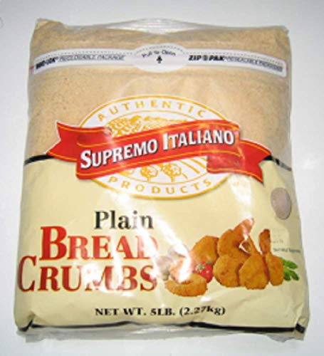 NULL Unit Bread Crumbs Plain 5LBS - SUPREMO Italiano