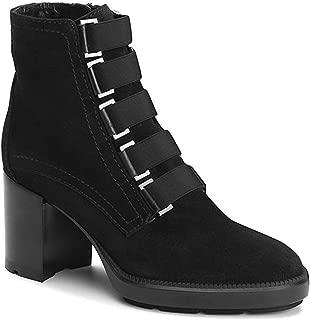 Aquatalia Womens Indira Suede Block Heel Ankle Boots