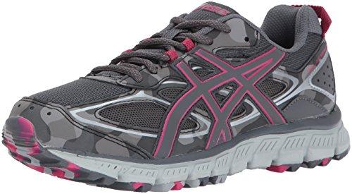ASICS Women's Gel-Scram 3 Trail Runner, Mid Grey/Turquoise/Aluminum, 7.5 M US