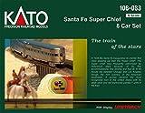 N Santa Fe Super Chief - 8 Car Named Train Set