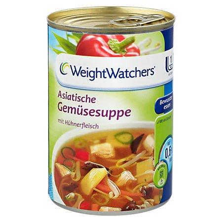 Weight Watchers Asiatische Gemüsesuppe mit Hühnerfleisch 6x 395 ml