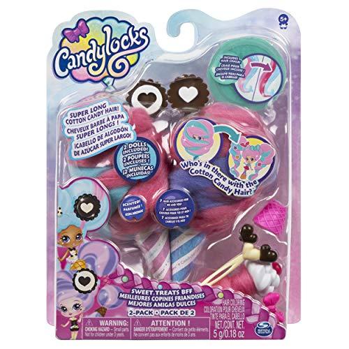 Candylocks 6054718 - Beste Freundinnen 2er - Pack, Cora Crème und Charli Chip