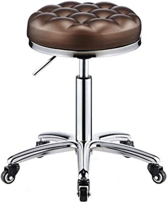 Amazon.com: OneSpace Drafting Stool with Tractor Seat, Black ...