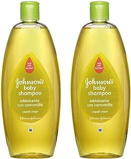 johnson's baby shampoo camomile