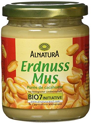 Alnatura Bio Erdnussmus, 6er Pack (6 x 250 g)