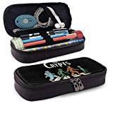 Pencil Case Big Capacity Storage Pen Pencil Pouch Desk Organizer Practical Bag Holder with Zipper - E.T. Cryptid Road
