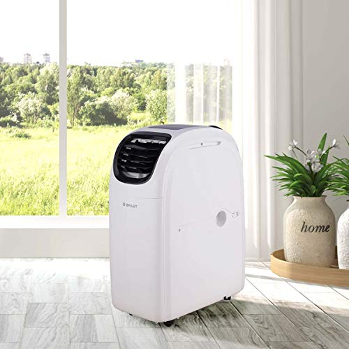 Mobile Klimaanlage EEK A 3,5kW | Räume bis 45 qm | Kühler Entfeuchter Heizung | 12.000 BTU | Energieklasse A | BRAST