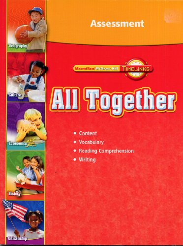 Timelinks: All Together Assessment (Timelinks, Grade 1)