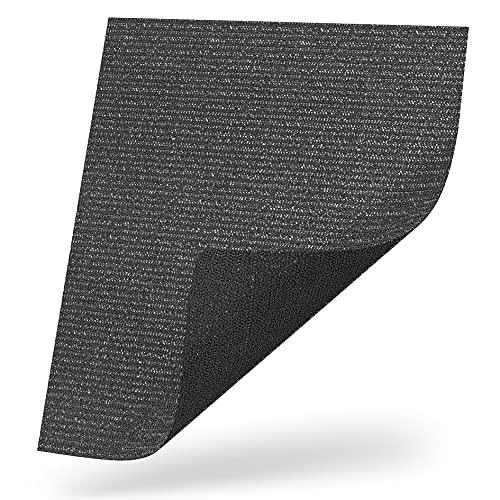 LILENO HOME Antirutschmatte zuschneidbar 100 x 120 cm - Struktur Kofferraummatte als Kofferraumschutz - Kofferraum Schutzmatte u. Auto Kofferraumdecke Ideal für Hund