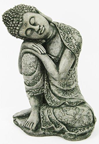 Thai Buddha Meditating Sitting Buddha Garden Statue Concrete Asian Statue Chinese Sculpture Japanese Outdoor Statuary