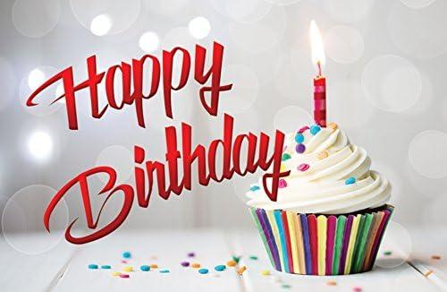 """Amazon.com: Tarjetas postales con texto en inglés """"Happy Birthday"""", para  cumpleaños, todas las edades, paquete de de 25) : Productos de Oficina"""