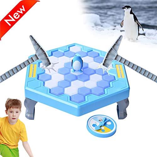 HIMACar Juego De PingüInos Trampa De PingüInos,Juegos De Mesa De Rompecabezas Guardar PingüIno Icebreaker Knock Ice Creativo Pinguinos En El Hielo Beat Interactive Stop Party Game