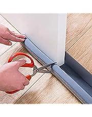 Door Draft Stopper, 30'' to 38'' Under Door Draft Blocker Window Breeze Blocker, Noise Sound Light Smell Blocker for Doors and Windows