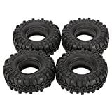 Goolsky 4Pcs AUSTAR AX-4020 1.9 Inch 110mm 1/10 Rock Crawler Tires for D90 SCX10 AXIAL RC4WD TF2 RC Car