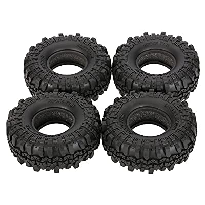 Goolsky 4Pcs AUSTAR AX-4020 1.9 Inch 110mm 1/10 Rock Crawler Tires