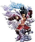LJUCTD Portrait of Pirates: Sa-MAX Luffy Snake Figura de PVC Masculina - Figura de Monkey D Luffy Fourth Gear para la colección de decoración del Coche en casa Alto 10 6 Pulgadas
