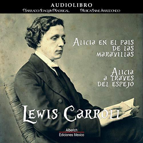 Diseño de la portada del título Lewis Carroll