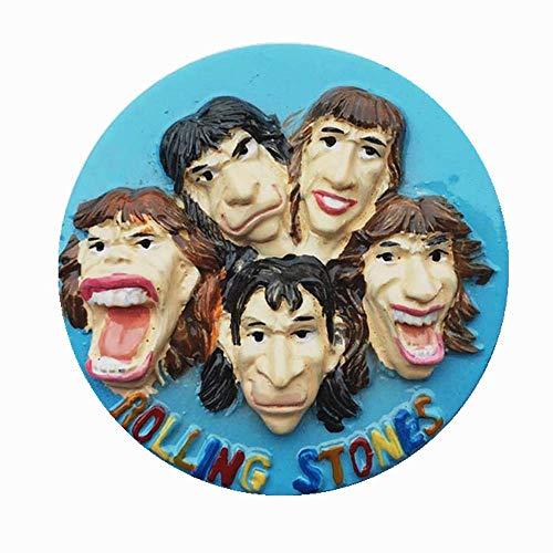 Kühlschrankmagnet, Motiv: Band The Rolling Stones Vereinigtes Königreich, Reise-Souvenir, Geschenk, Heimküche, Dekoration, Magnet-Aufkleber, Kühlschrank-Magnet-Kollektion