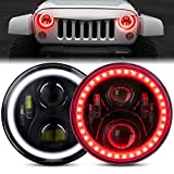 7 round led halo headlights - DOT Approved 7