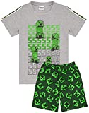 Minecraft Pijamas Boys 4 Opciones de diseño Kids Top Shorts Gamer PJs 6-7 años