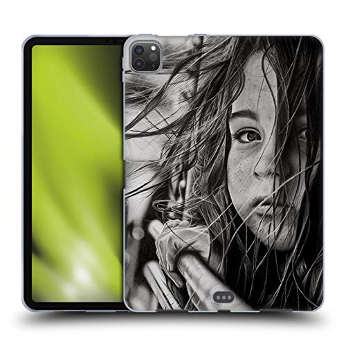 Head Case Designs Officially Licensed Graham Bradshaw Long Road Illustrations Soft Gel Case Compatible with Apple iPad Pro 11 (2020)