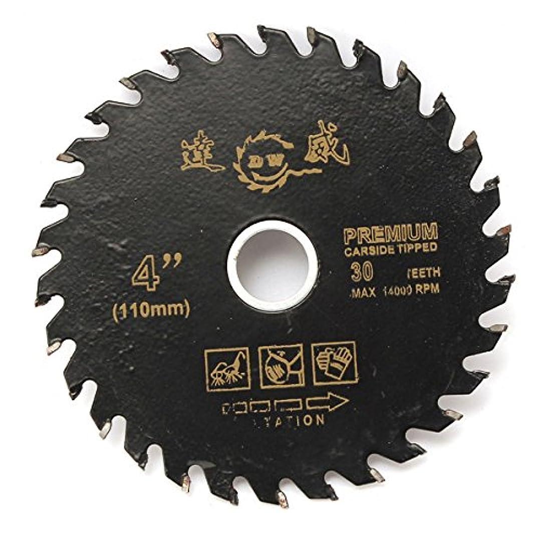 に同意する平和エミュレートするQueenwind の 110mm 4 インチの円形の炭化物の切断ディスク鋸刃の木工用具
