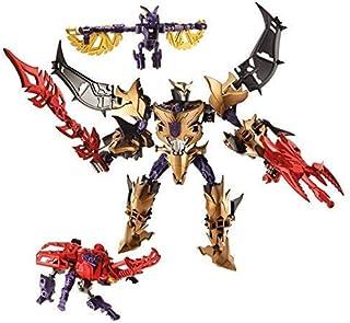 Transformers Construct Bots Triple Team Class Unicron Megatron with Ratbat and Barrage