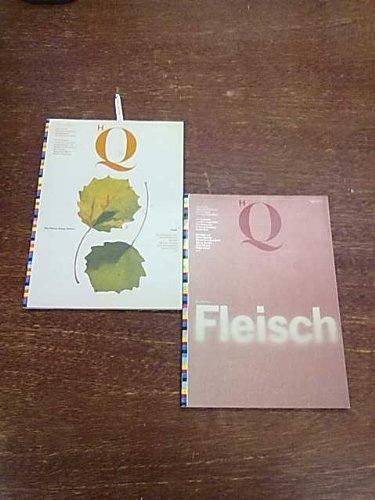 HQ. High Quality. Zeitschrift über das Gestalten, das Drucken und das Gedruckte. Heft 25 und 26 bzw. Nr.1-2/1993