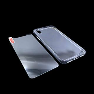 iPhone X case, Crystal Transparent Clear Flexible Soft Gel TPU Cover shell Skin for Apple iPhone X (2017 Release)(Clear) w...