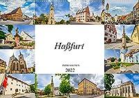 Hassfurt Impressionen (Wandkalender 2022 DIN A2 quer): Einmalig wunderschoene Bilder der Stadt Hassfurt (Monatskalender, 14 Seiten )