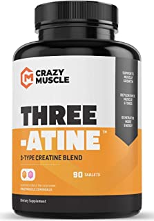 Sponsored Ad - Creatine Pills - Keto Friendly Muscle Builder - 1,667 mg Tablets (138% + More Than Capsules) - Over 5 Grams...