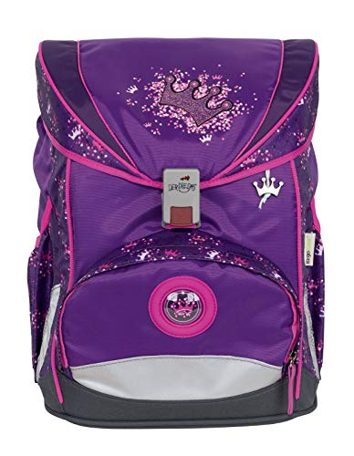 DerDieDas ErgoFlex Schulranzenset 5-teilig Purple Princess