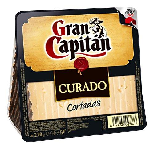 Gran Capitán - Queso Curado Cortadas 210 g