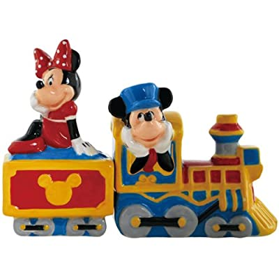 Salt & Pepper Shakers - Disney - Mickey/Minnie Choo Choo New Toys 18932 by Westland