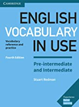 Permalink to English Vocabulary in Use Pre-Intermediate and Intermediate. Fourth Edition. Book with Answers.: Vocabulary Reference and Practice PDF