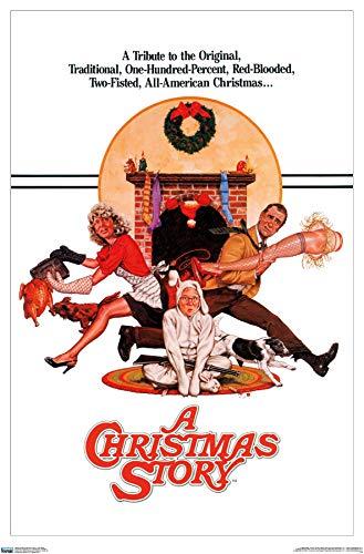 Trends International 24X36 A Christmas Story - One Sheet Wall Poster, 24' x 36', Unframed Version