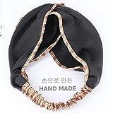 Diadema con turbante cruzado de moda de verano para mujeres y niñas bandas para la cabeza para el cabello accesorios envolventes para...